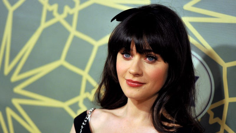 Illustration for article titled Zooey Deschanel Says She'd Rather Work Than Have Babies