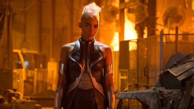 Alexandra Shipp as Storm in X-Men: Apocalypse (2016)