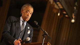 The Rev. Al Sharpton during a town hall meeting on Dec. 19, 2013, in Chicago.Scott Olson/Getty Images