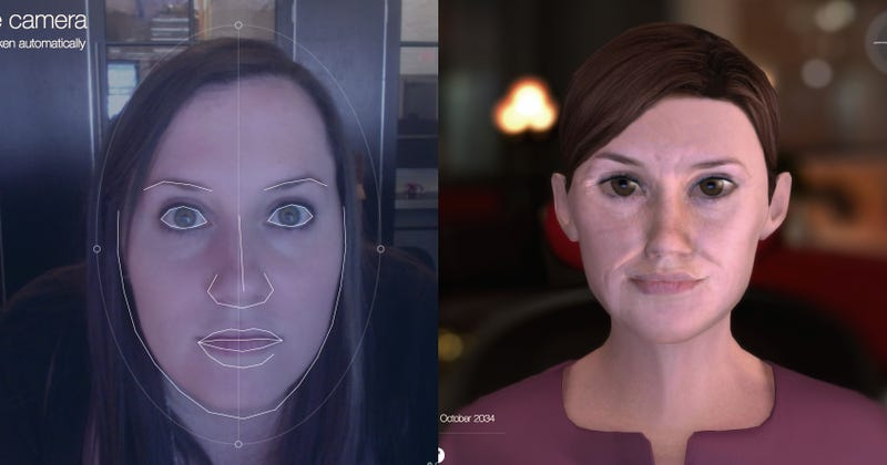 Illustration for article titled This Website Shows You What You Might Look Like in 20(-ish) Years