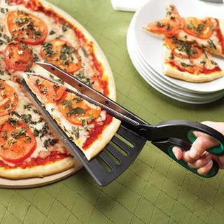Illustration for article titled Cut Coupons, Serve Pies, Lose Respect With Pizza Scissors
