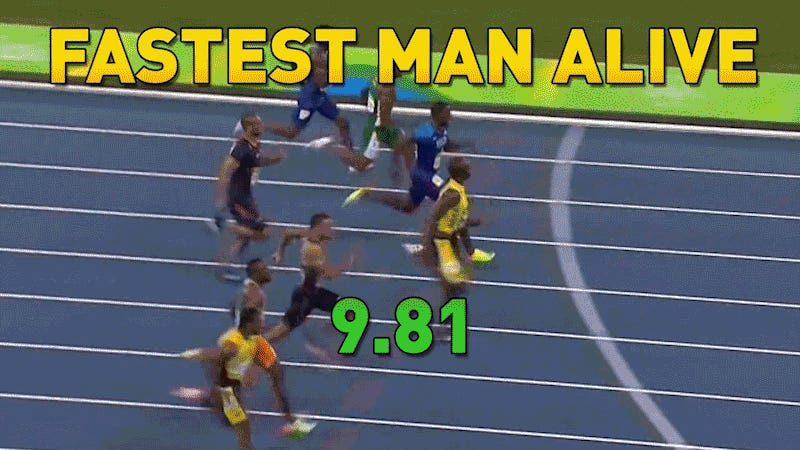 Usain Bolt Remains The Fastest Man Alive