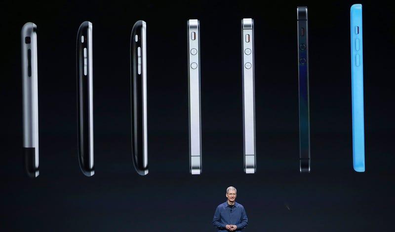 Illustration for article titled El truco de Apple para que el iPhone 6 pareciera más fino