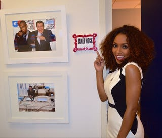 Illustration for article titled Janet Mock on Colbert Tonight