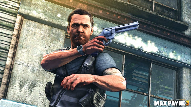 Illustration for article titled Get Up Close and Personal With a Max Payne 3 Hand Cannon on His New Website