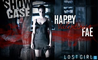 Illustration for article titled Lost Girl Valentine Posters