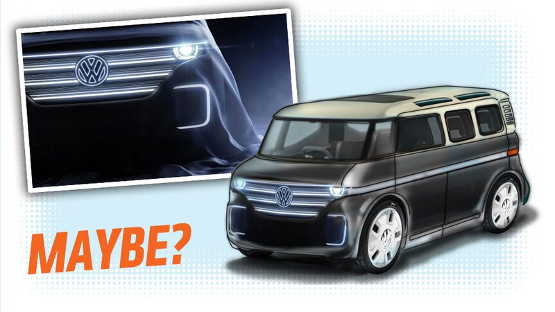 Illustration for article titled Here's What Volkswagen's New Electric Microbus Could Look Like