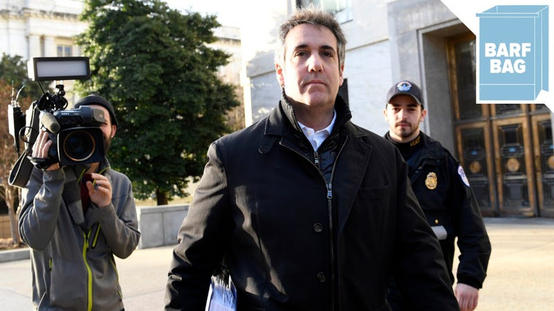 Illustration for article titled Is Michael Cohen Scared or Excited?