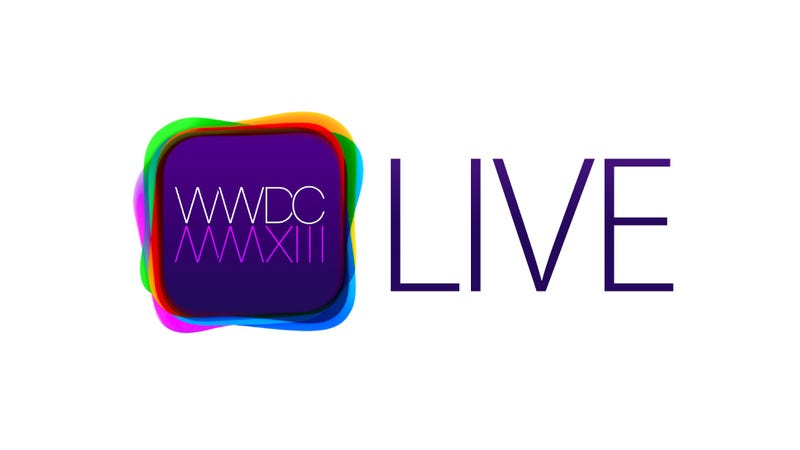 Illustration for article titled Our WWDC 2013 Liveblog Kicks Off Right Now