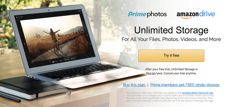 1-Year Amazon Cloud Drive, $48 with code WINTERPRINTS