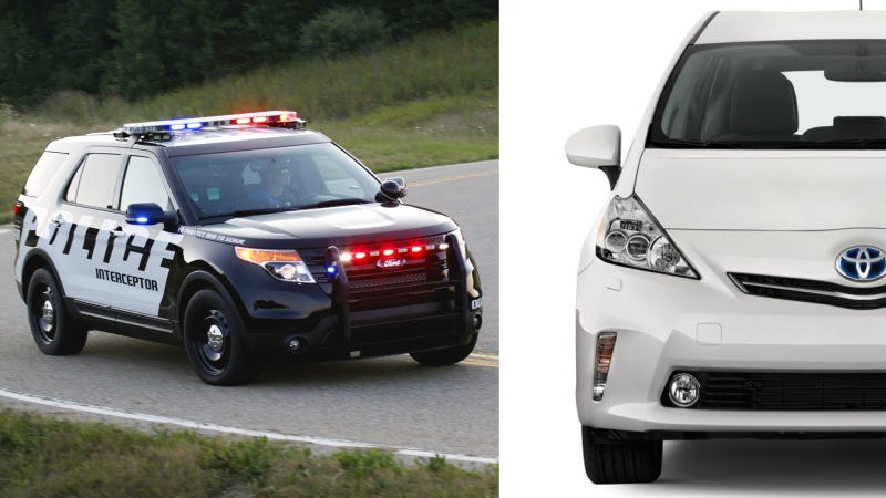 Illustration for article titled Police Say Seattle Mayor Wants Prius Cop Cars Instead Of Explorers