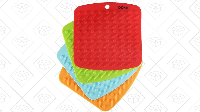 4-Pack X-Chef Silicone Mats, $7 with code FQRCU6DF