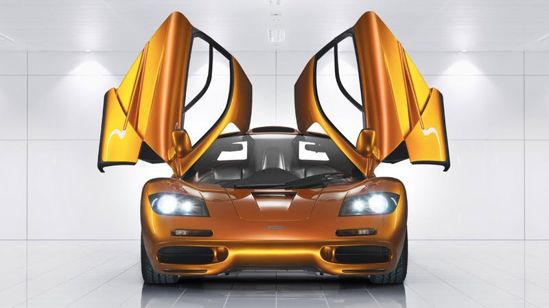One of the 106 McLaren F1s on Earth, safely on display. (Photo Credit: McLaren)