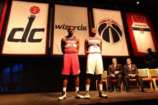 Illustration for article titled Washington Wizards Have Brand New Jerseys, Hopefully A Brand New Game