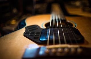 Illustration for article titled Moog LEV-96: Forget Synths, Moog Is Making a Batshit Acoustic Guitar or Something
