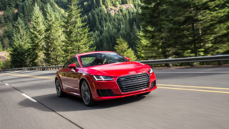 The Audi TT Is Your Parents Perfect My First Sports Car - About audi car
