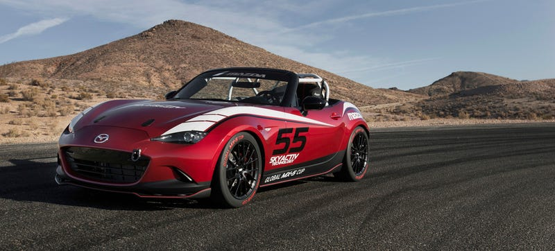 Illustration for article titled The 2016 Mazda Global MX-5 Cup Is An All New Car And Race Series