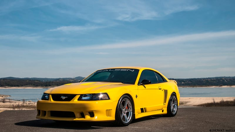 Illustration for article titled Your Ridiculously Awesome Saleen S281 Mustang Wallpaper Is Here