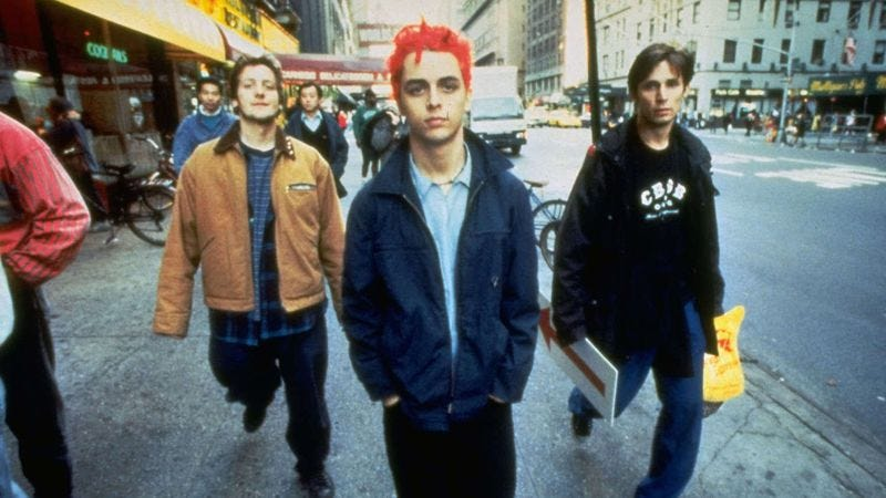 1994 rocketed green day and the offspring from punks to superstar punks