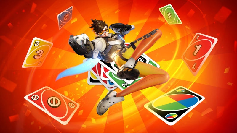 Illustration for article titled Overwatch Workshop's Most Popular Mode Is The Card Game Uno