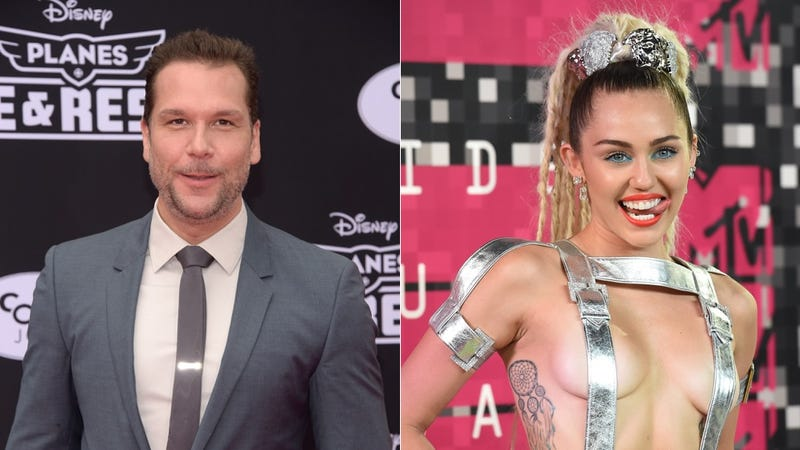 Illustration for article titled Miley Cyrus and Dane Cook Might Be Hooking Up and I Feel Like My Brain's on Fire
