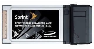 Illustration for article titled Novatel Merlin S720: First Super Speedy Sprint EVDO Revision A. Card