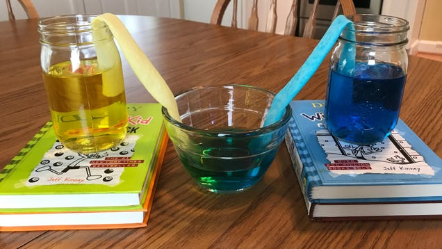 Try the  Walking Water  Experiment With Your Kids
