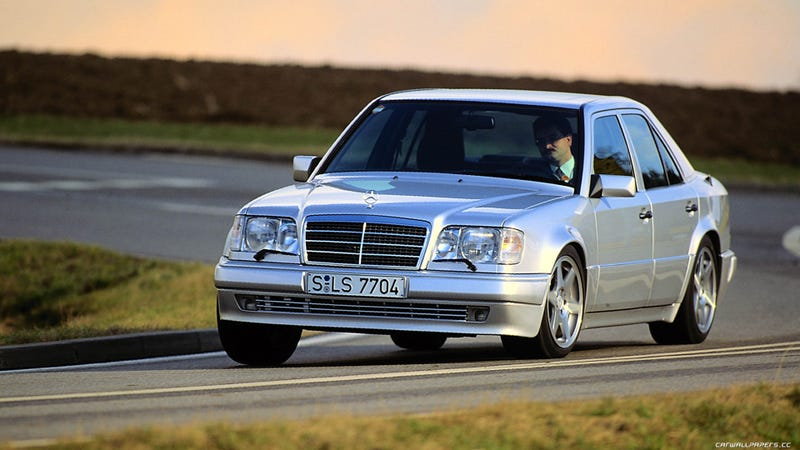 Who doesn't love a W124 500E?