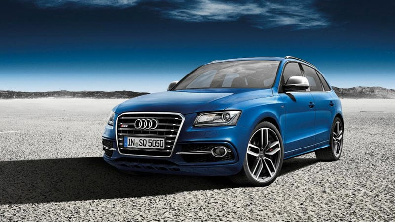 Illustration for article titled Audi's Exclusive SQ5 Is Blue And Really, Really, Really Expensive