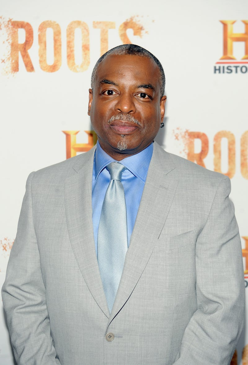 """NEW YORK, NY - MAY 23: LeVar Burton attends the premiere screening of """"Night One"""" of the four night epic event series, """"Roots,"""" hosted by HISTORY at Alice Tully Hall on May 23, 2016 in New York City.  Photo by Brad Barket/Getty Images for HISTORY"""