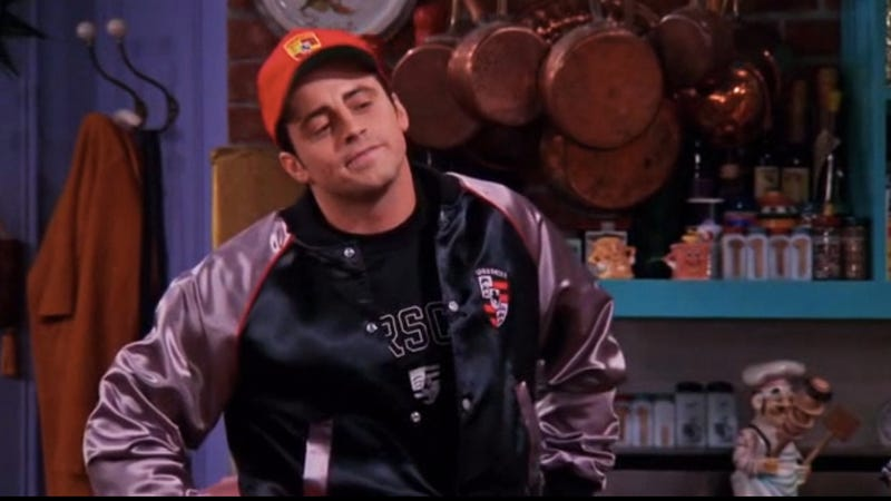 """(Screencap from Friends, """"The One With Joey's Porsche"""")"""