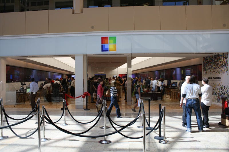 Illustration for article titled 32 Microsoft Retail Stores Will Invade America for the Holidays