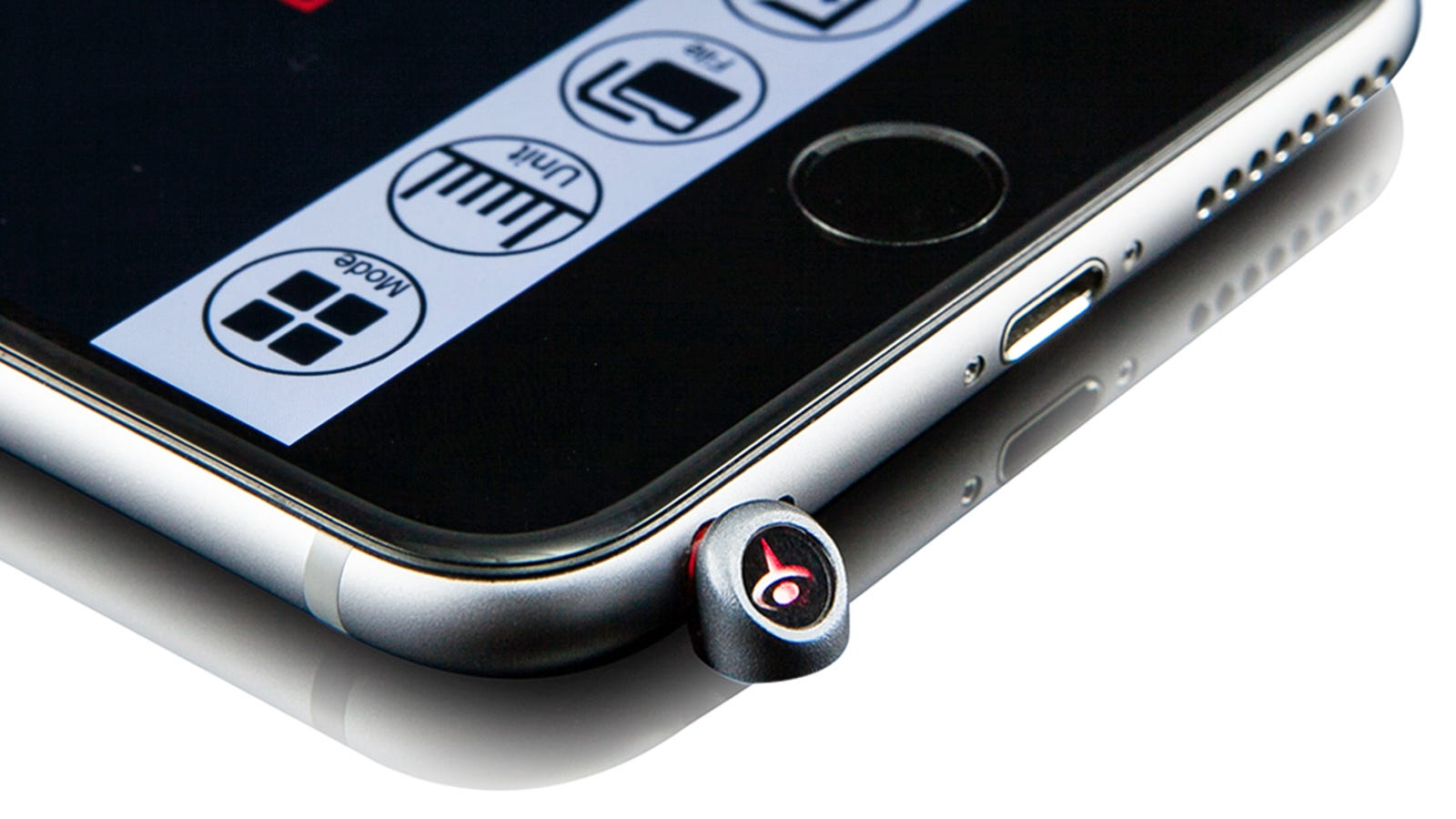 Turn Your iPhone Into a Laser Measure With This Tiny Headphone Jack Accessory