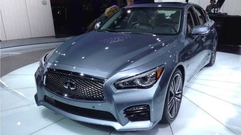 Illustration for article titled Infiniti Will Sell The G37 And Q50 At The Same Time And Confuse Nobody