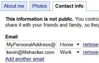 Illustration for article titled Google Profiles Adds Selectively Shared Contact Info