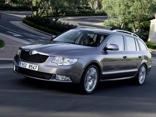 Illustration for article titled Skoda Superb Estate Quietly Unveiled For Euro Market