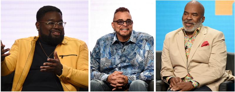 Lil Rel Howery, Sinbad, David Alan Grier