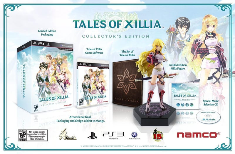 Illustration for article titled TAY Deal Blip - Tales of Xillia CE - $50