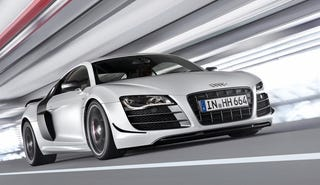 Illustration for article titled Audi R8 GT: First Photos
