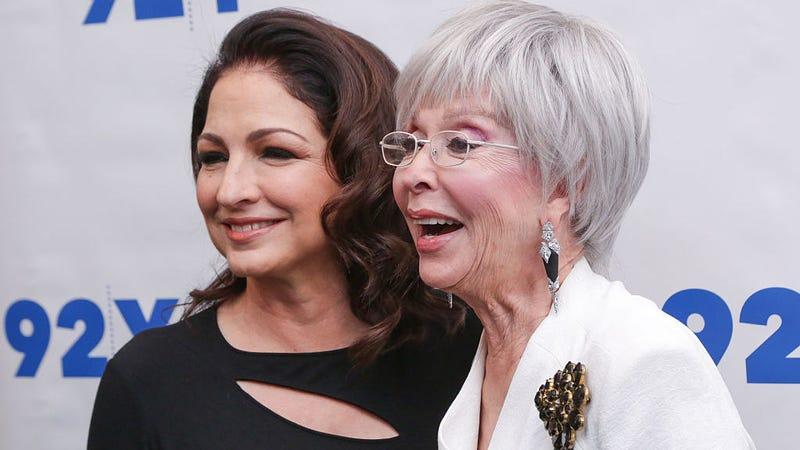 Gloria Estefan and Rita Moreno