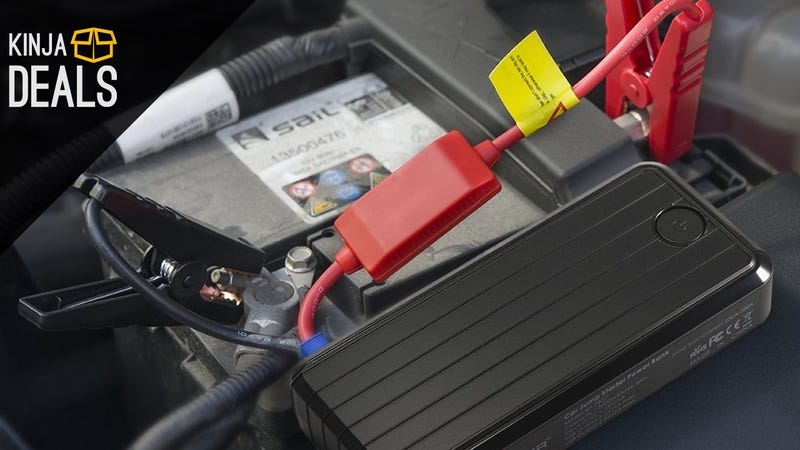 Illustration for article titled Give The Gift Of a Working Car With This $50 Portable Jump Starter