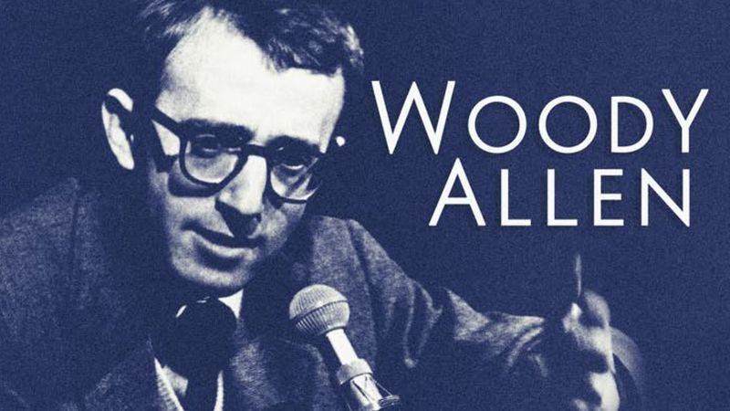 Illustration for article titled Here's a track from an upcoming Woody Allen stand-up reissue