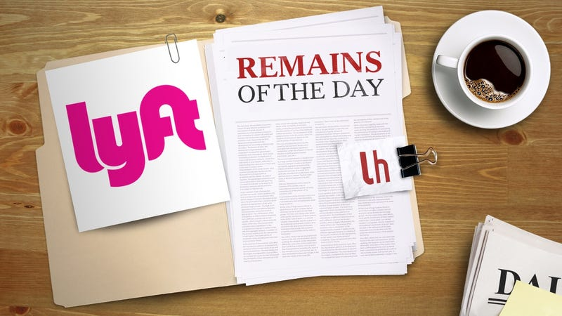 Illustration for article titled Remains of the Day: Lyft Will Soon Let You Make Multiple Stops on a Trip