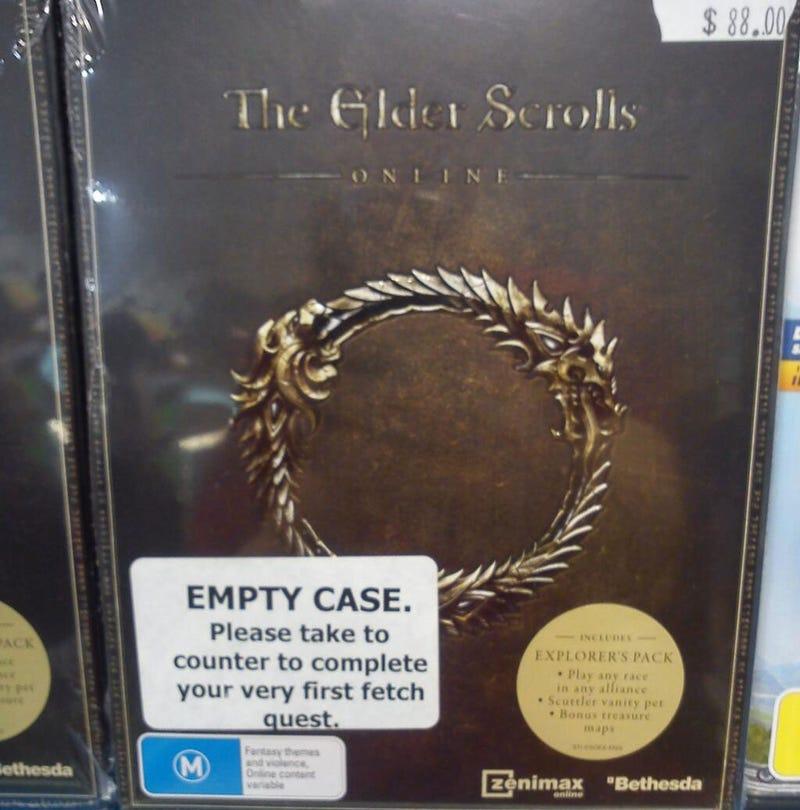 Illustration for article titled Elder Scrolls Online's Grind Begins Before You Even Start The Game