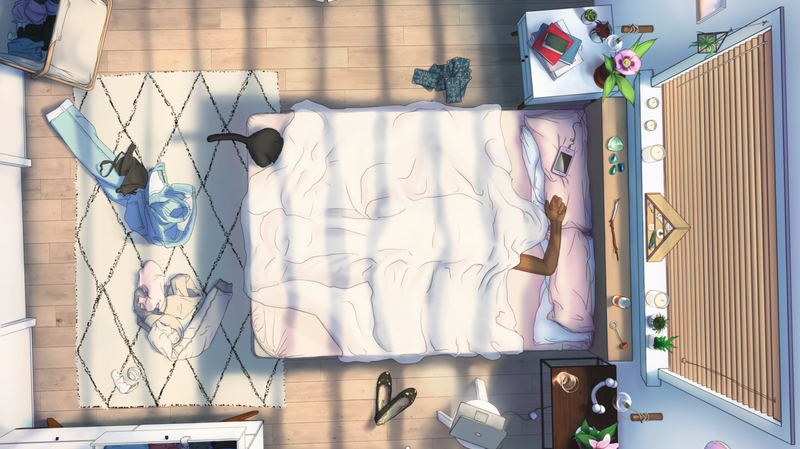 Illustration for article titled A Game About Staying In Bed All Day