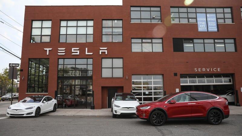 Tesla shop
