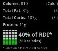 Illustration for article titled Calorie Counter Puts Nutritional Index Right in Your Android Phone