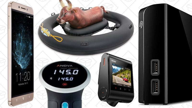 Illustration for article titled Saturday's Best Deals: LeEco Smartphone, Anova Sous-Vide, Anker Dash Cam, and More