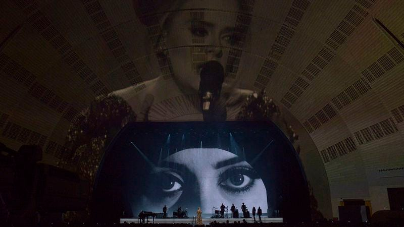 Illustration for article titled Adele takes over New York, NBC, your television