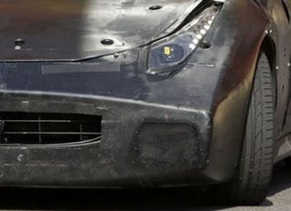 Illustration for article titled Ugliest Ferrari Mule Ever Continues Testing In Maranello